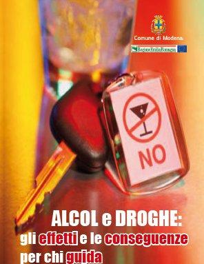 ALCOL E DROGHE: GLI EFFETTI E LE CONSEGUENZE PER CHI GUIDA