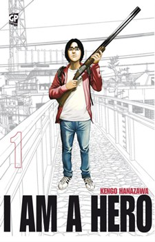 I AM A HERO, VOL. 1 E 2, KENGO HANAZAWA