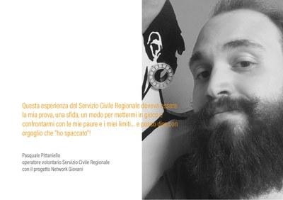 Pasquale-Pittaniello - Volontario in Servizio Civile Regionale